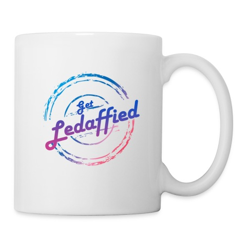get ledaffied - Mug blanc