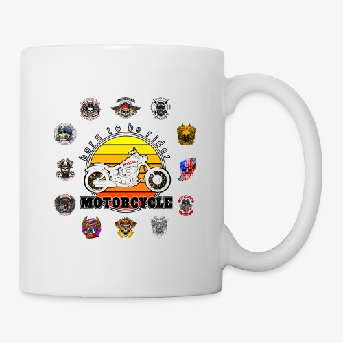 Born to be Rider - Motorcycle - Collection - Tazza