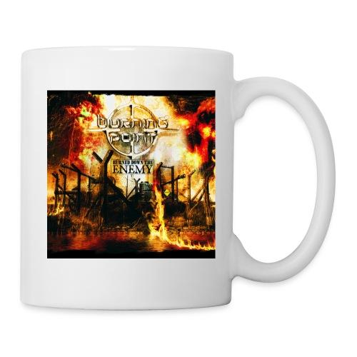 burned cover - Mug