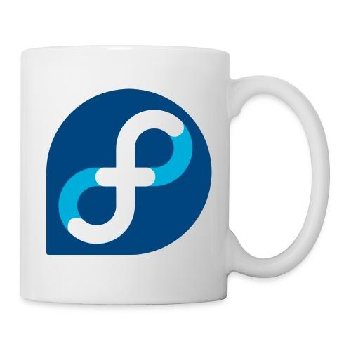 fedora logo - Mug blanc