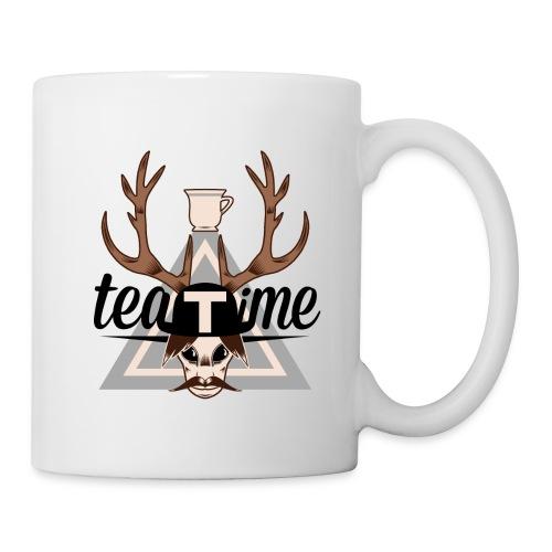 Logo TeaTime - Mug blanc