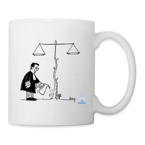 avocat jardinier - Mug blanc