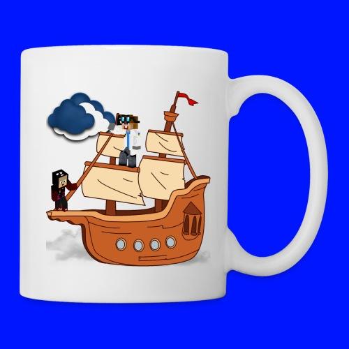 Fliegendes Schiff2 png - Tasse