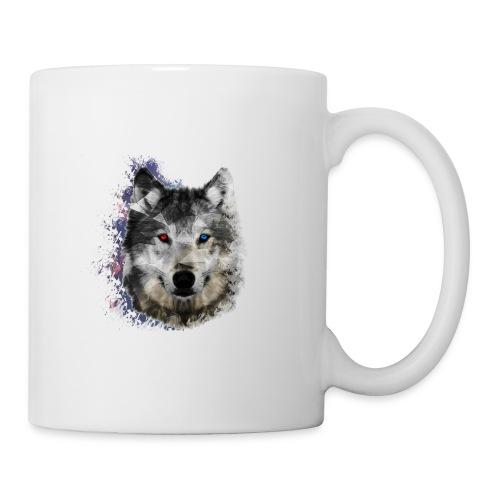 Loup - Mug blanc