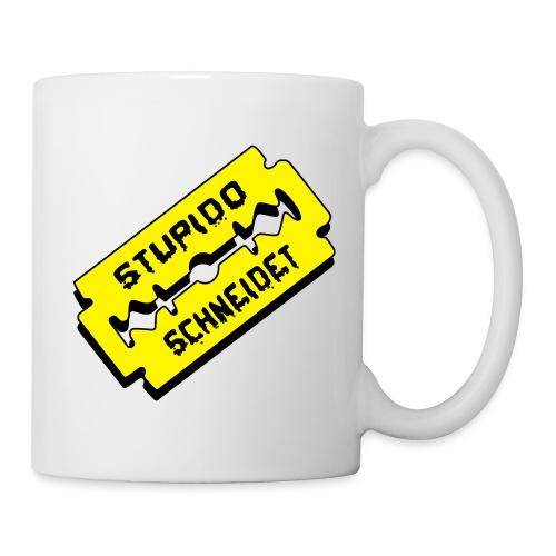 Stupido schneidet Logo - Tasse