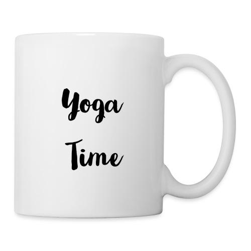 Yoga time - Mug blanc