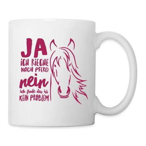 Vorschau: ja ich rieche nach Pferd - Tasse