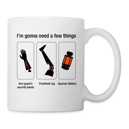 Rocket citation Few things gardiens - Mug blanc
