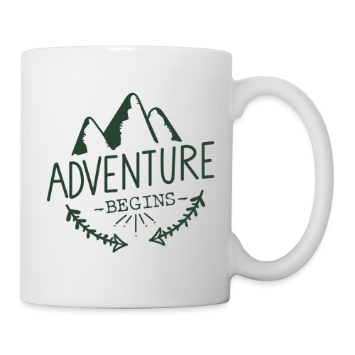 adventure begins greenhi png - Tazza