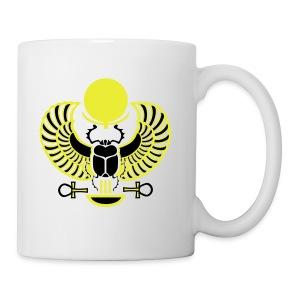Geflügelter Skarabäus - Tasse