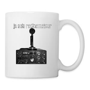 Je suis radioamateur - Tasse