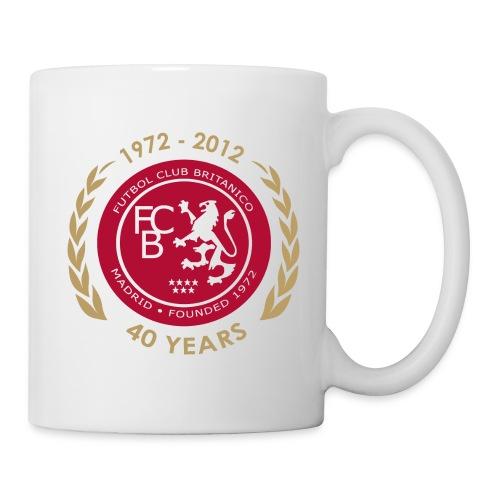 40th Anniversary Club Badge - Mug