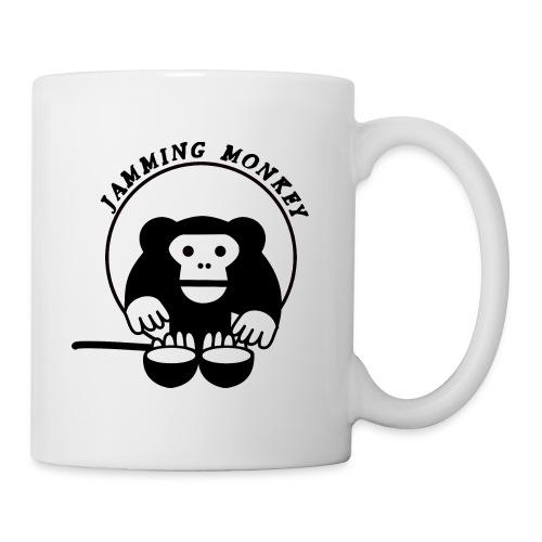 Jamming Monkey - Mug blanc