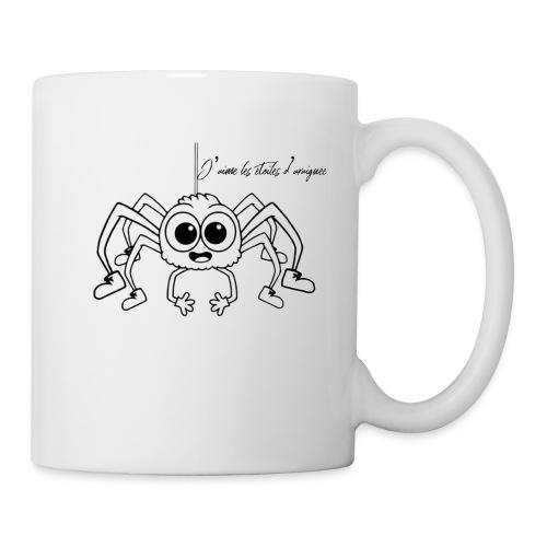 Spider Web Star - Mug blanc
