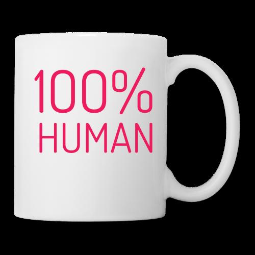 100% Human in roze - Mok
