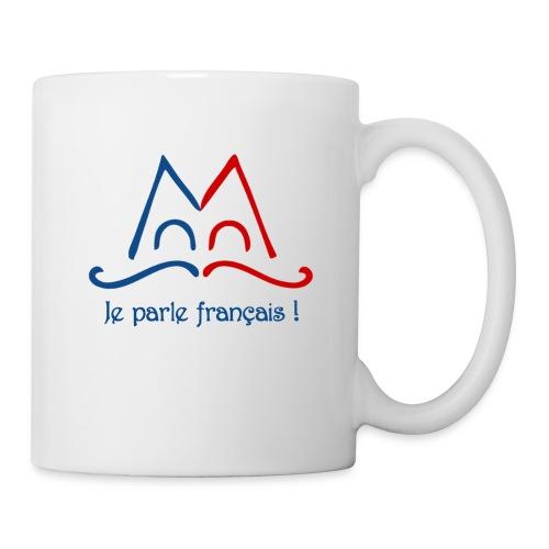 Je parle français ! - Mug blanc