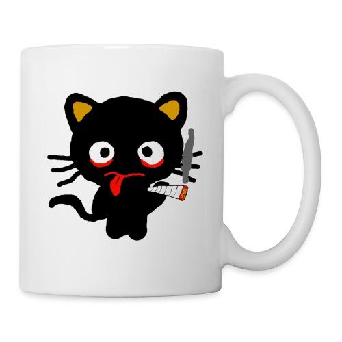 Pothead Cat Cannabis Smoking Weed, legalize it - Mug