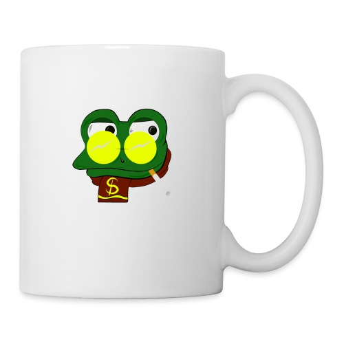 Winter Froggy - Mug blanc