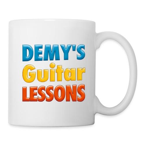 demys guitar lessons logo groot - Mug