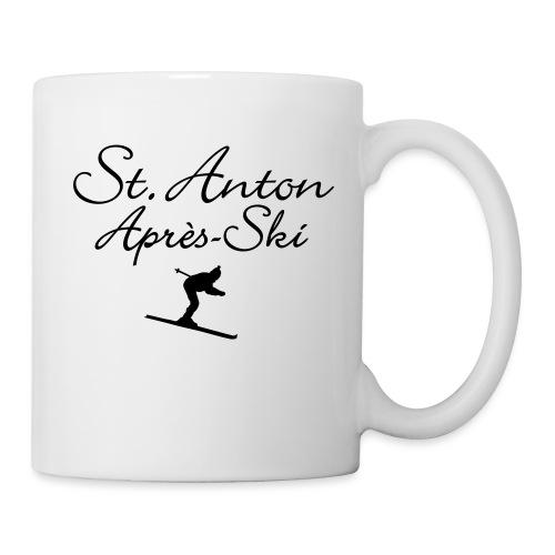St. Anton Après-Ski Skifahrer - Tasse