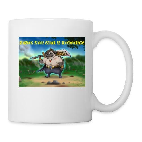 Never mess with a Hedgehog - Tasse