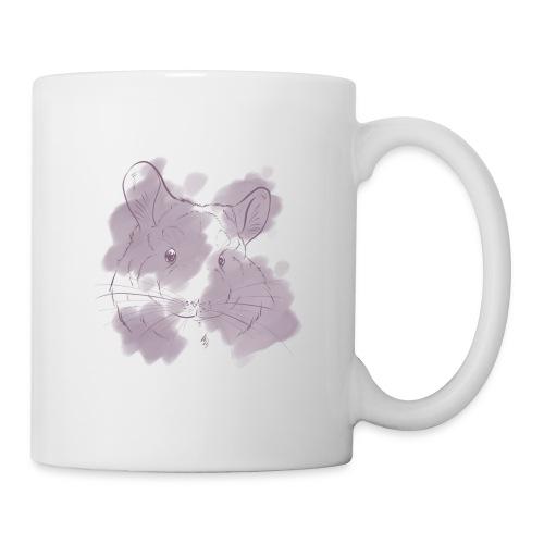 Violet splash chinchilla 2 - Muki
