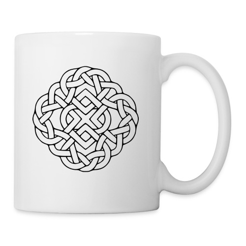6 heart knot - Mug