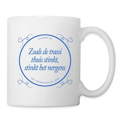zoalsdetrassi blauw png - Mug