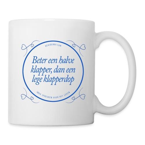 Betereenhalveklapper blauw png - Mug