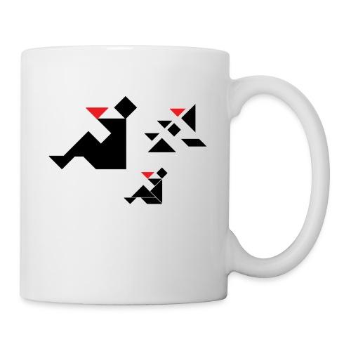 sreadshirt-catalogo-Uomo_con_coppa - Mug blanc