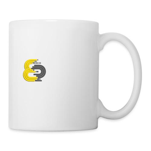 Logo mit Aufschift - Tasse