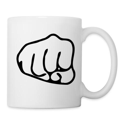 Faustschlag - Tasse