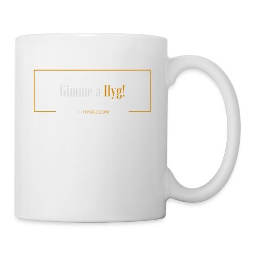 Gimme a Hyg, Grey and Orange - Mug