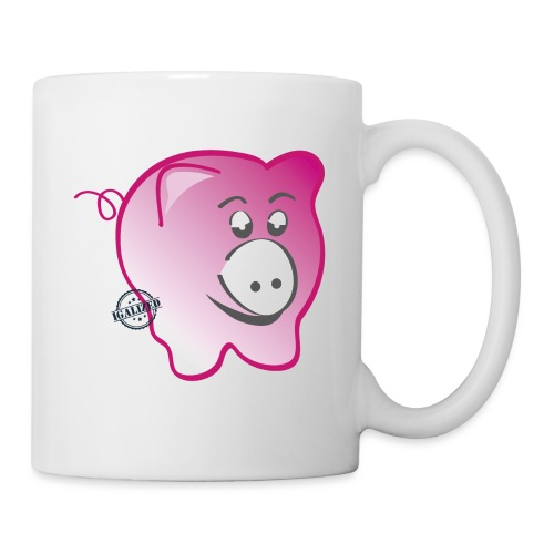 Pig - Symbols of Happiness - Mug