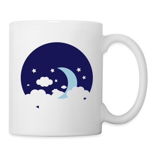 Lune - Mug blanc