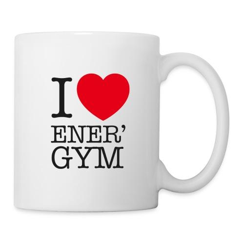 I love Ener'gym - Mug blanc