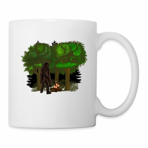 Bigfoot Campfire Forest - Mug