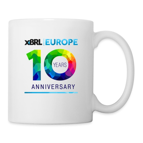 10th anniversary of XBRL Europe - Mug