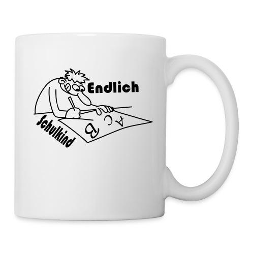 K 0033 Endlich Schulkind - Tasse