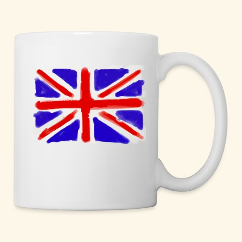 British flag in watercolours - Mugg