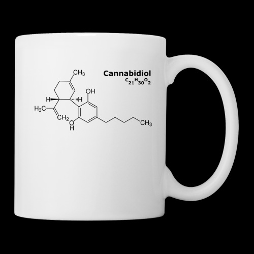 CBD Molekül - Tasse