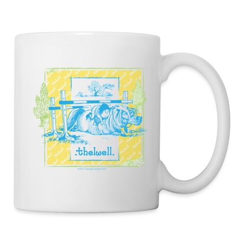 Thelwell Cartoon Pony Sturz Rahmen - Tasse
