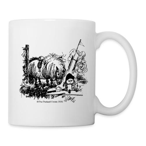 Thelwell Cartoon Pony Missgeschick - Tasse