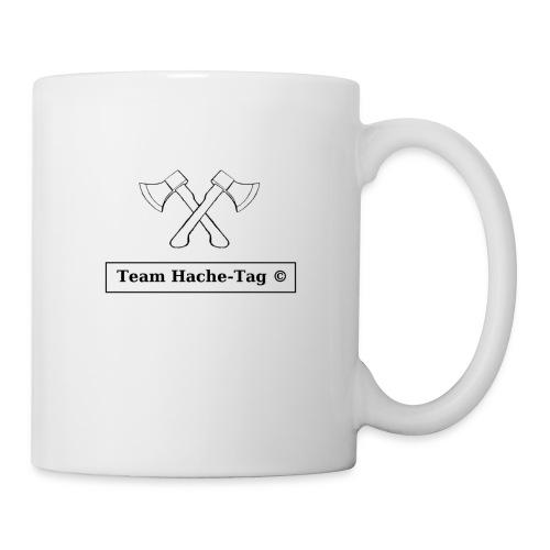 Logo Team Hache-Tag - Mug blanc