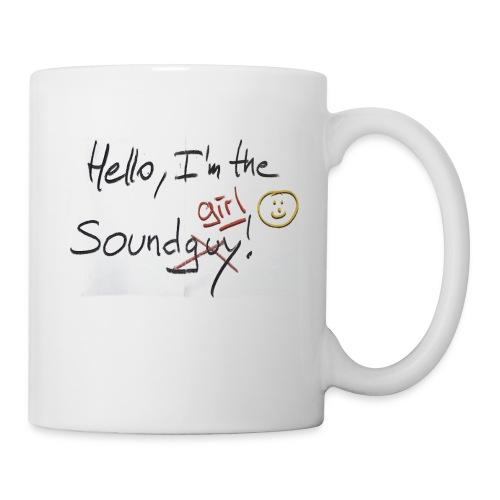 Hello I'm the sound girl - Mug