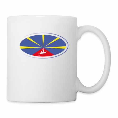 Paddle Reunion Flag - Mug blanc