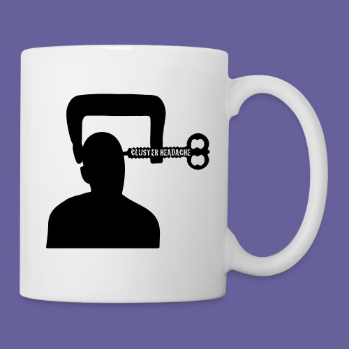 Cluster headache in een bankschroef - Mug blanc