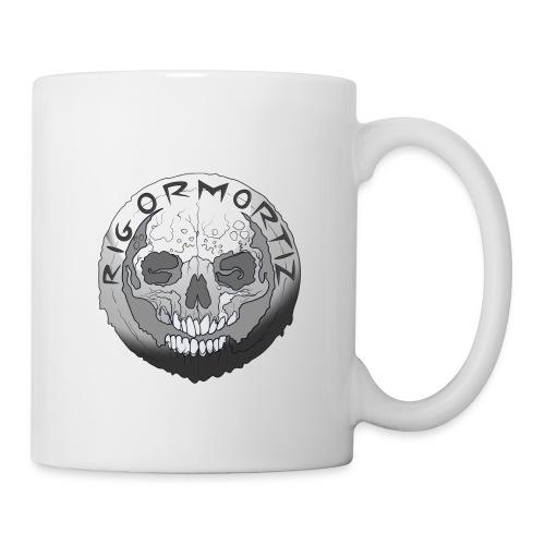 Rigormortiz Black and White Design - Mug