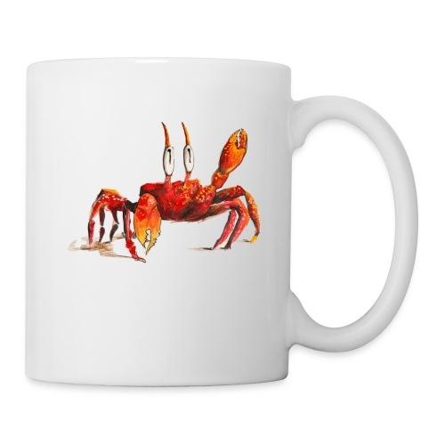 Die rote Krabbe - Tasse