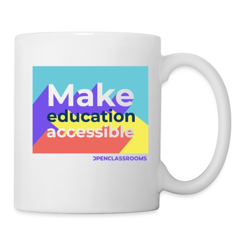Make education Accessible - Mug blanc